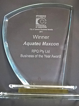 Aquatec  Maxcon announced as 2017 Business of the Year