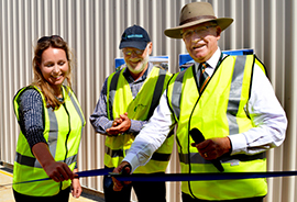 Kingaroy WWTP Ribbon Cutting