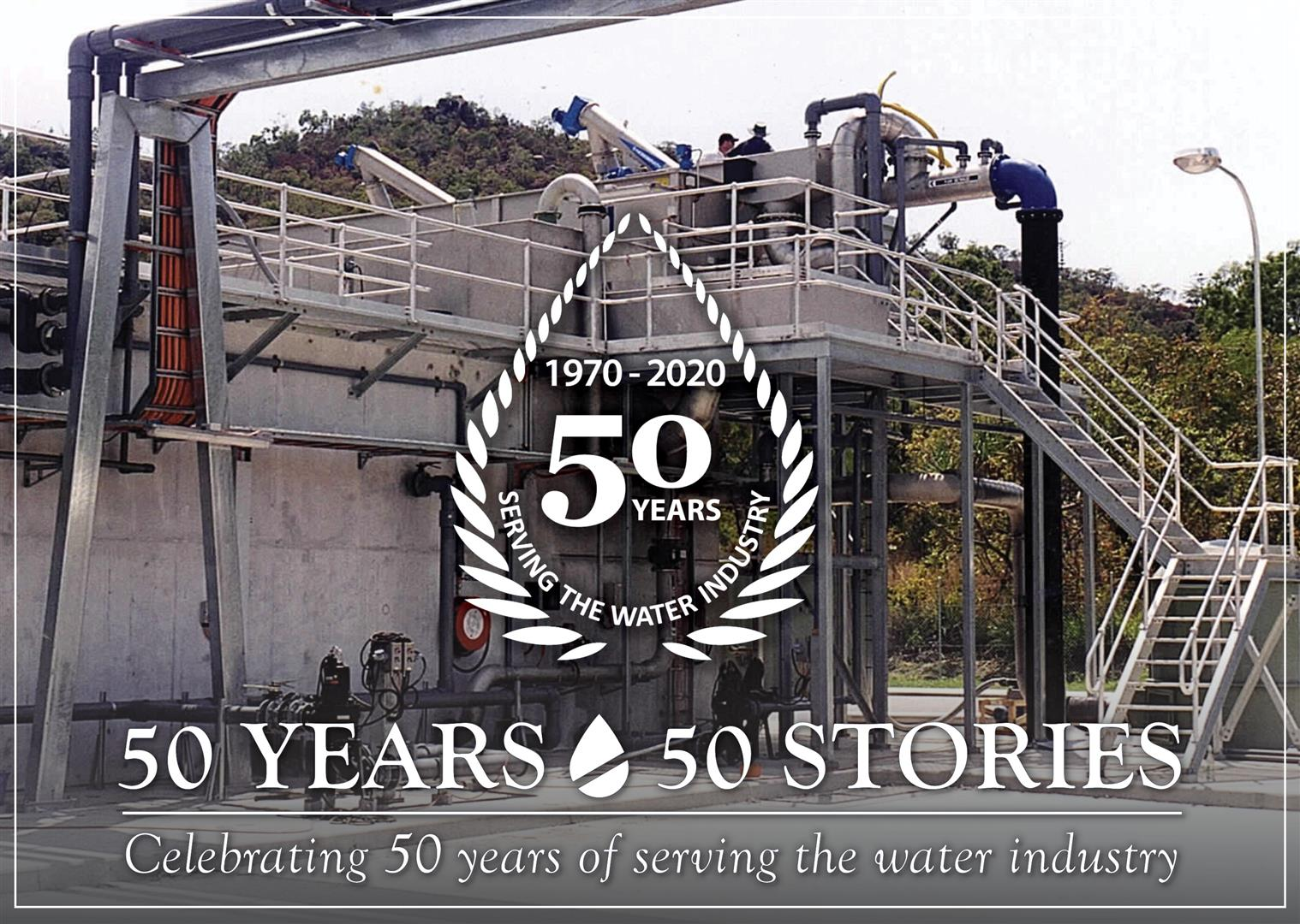 50 Years - 50 Stories: Picnic Bay Membrane Bioreactor STP - A first for Picnic Bay (and Australia!)