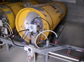 Chlorine Gas Storage and Transfer Installation