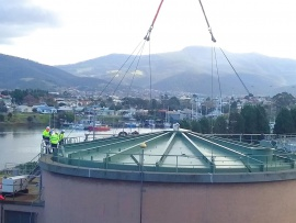 Successfully Refurbished Digester at the Prince of Wales Bay STP